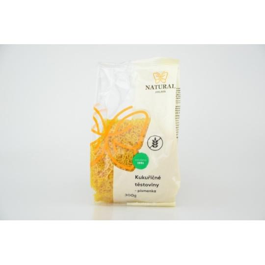 Těstoviny kukuřičné - písmenka, zvířátka 300 g