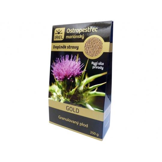 Granulovaný plod z  ostropestřce mariánského Gold - krabička 250g