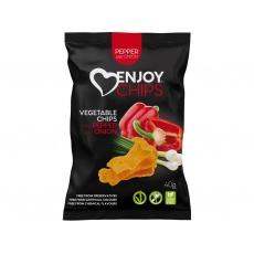 Zeleninový snack červená paprika 40g