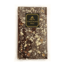 77% čokoláda bez cukru s lískovými a vlašskými ořechy 68 g
