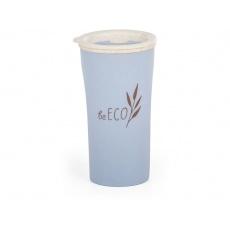 Eko kelímek  beECO Latte 450 ml, modrý