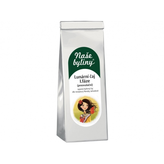 Naše byliny - Lunární čaj I.fáze (preovulační) 50g