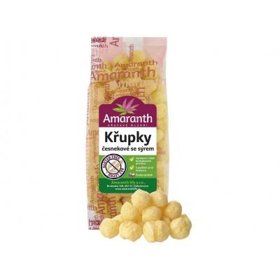 Křupky česnekové se sýrem 80g