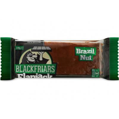 Tyčinka ovesná Flapjack Brazilské ořechy 110g