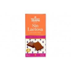 Čokoláda mléčná bez laktózy-TRAPA 90g