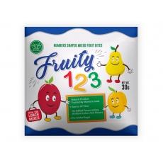 Sušené ovoce v podobě čísel 30g