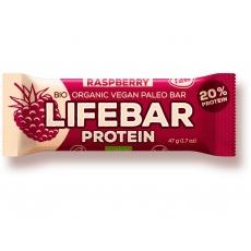 Bio tyčinka Lifebar protein malinová 47g