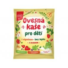 Ovesná kaše pro děti s vápníkem a ovocem 65g