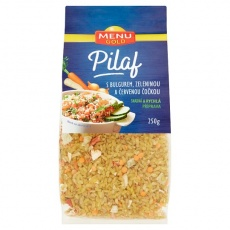 Pilaf s  bulgurem, zeleninou a červ.čočkou 250g min.trv.23.4.2021