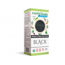 Bio přírodní barva na vlasy 100% 12 - Černá 100g