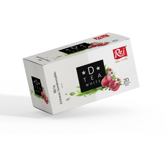 Čaj D-tea White (bílý čaj, echinacea, granátové jablko) 30g