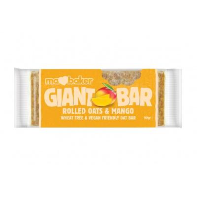 Tyčinka ovesná Giant bar Obří Mangová 90g