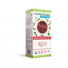 Bio přírodní barva na vlasy 100% 13 - Červená 100g