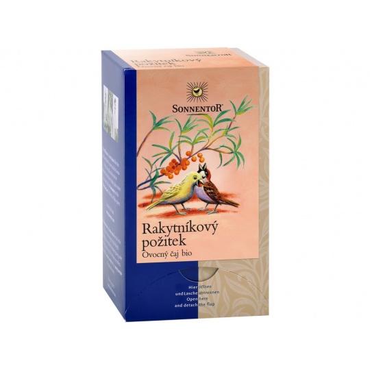 Bio Rakytníkový požitek čaj porc. dvoukomorový 54g (18sáčků)