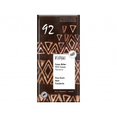 Bio hořká čokoláda 92% 80g