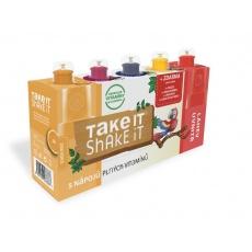 Take it shake it PAPOUŠEK 5x20ml mix ovocný nápoj