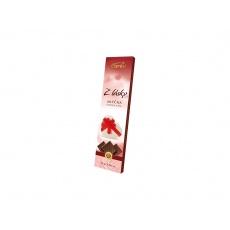 AKCE - Neapolitánky z mléčné čokolády z lásky 25g. Min. trv. 5.2.2021
