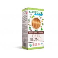 Bio přírodní barva na vlasy 100% 4 - Tmavá Blond 100g