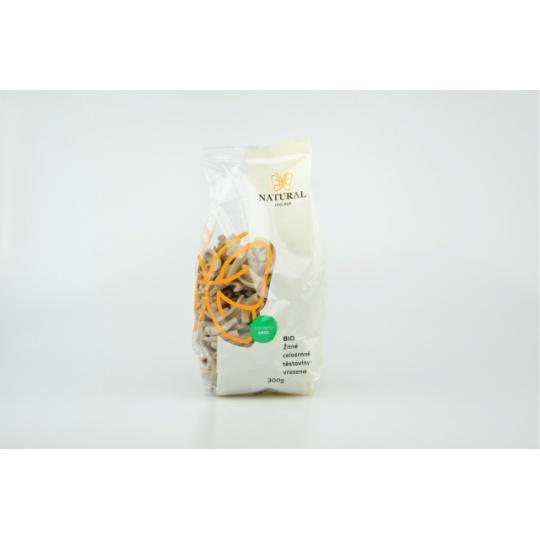 Těstoviny žitné celozrnné - vřetena BIO 300 g