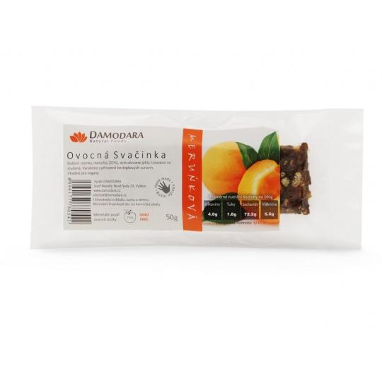 Tyčinka Ovocná svačinka meruňková 50g