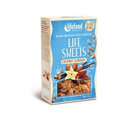 Bio Life sweets zasněžené mandle 90g