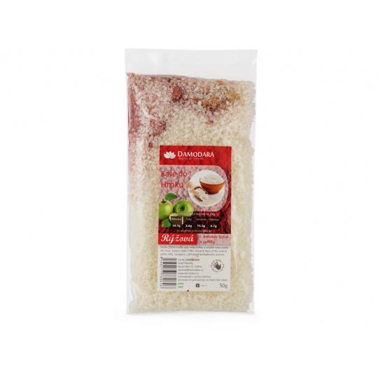 Instantní kaše do hrnku rýžová s červenou řepou a jablky 50g
