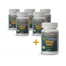 Ferospirina, Spirulina plus přírodně vázané železo 100 g - 400 tbl AKCE 5+1