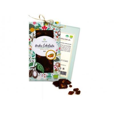 Bio čokoláda s golden berries - hořká 80g