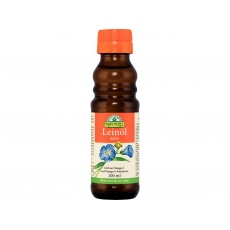 Bio lněný olej lisovaný za studena 100ml