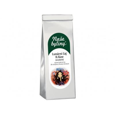 Naše byliny - Lunární čaj II.fáze (ovulační) 50g