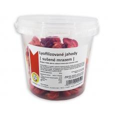 Lyofilizované jahody | sušené mrazem 80g PRÁŠEK