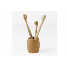 Stojánek na zubní kartáček bambusový Curanatura