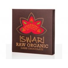 Bio Čokoláda Dark jahoda-kardamom 80% 75g RAW