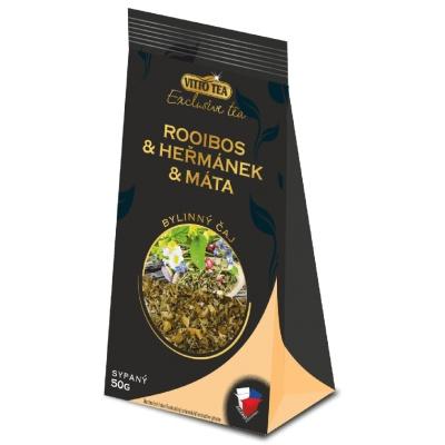 čaj Rooibos a Heřmánek sypaný 50 g