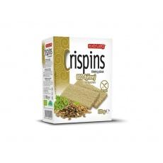 Bio křehký plátek Crispins dýňový s koriandrem 100g