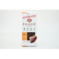 Čokoláda mléčná bez přid.cukru se sladidlem Erythritol-TAI TAU 100g