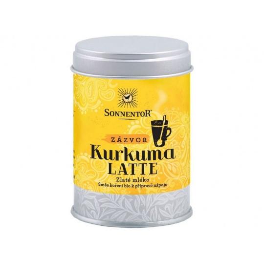Bio Kurkuma Latte-zázvor 60g dózička (Pikantní kořeněná směs)