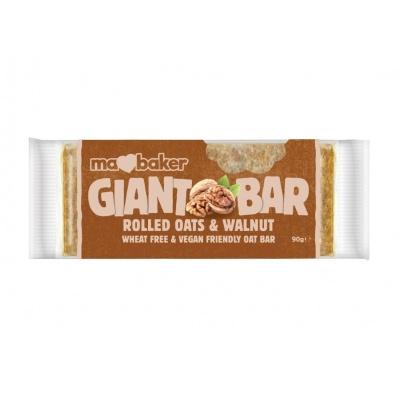 Tyčinka ovesná Giant bar Obří Vlašský ořech 90g