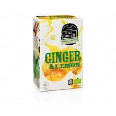 AKCE - Bio zázvorový čaj Ginger & Lemon 28g. Min. trv. 30.3.2021