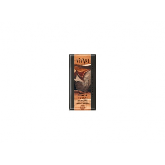 Bio Hořká čokoláda nugátová 100g