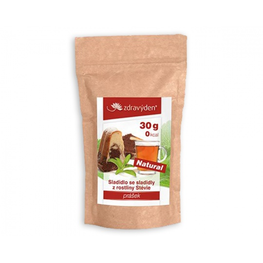Stévia práškové sladidlo 100% 30 g