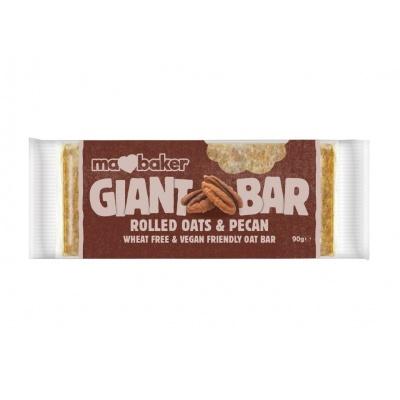 Tyčinka ovesná Giant bar Obří Pekanová 90g