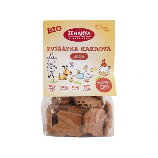 Bio Špaldová zvířátka kakaová 100 g