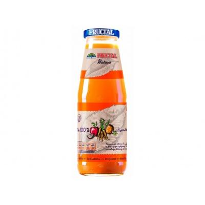 Šťáva NATURA z jablek, mrkve a pomerančů 0,7l