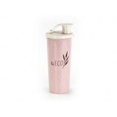 Shaker Fitness růžový 450ml