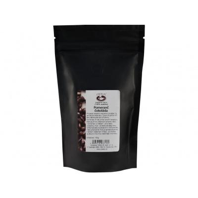 Pomeranč - čokoláda 150 g - káva mletá