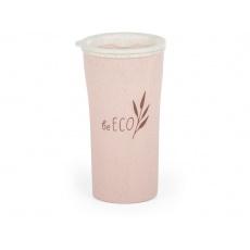 Eko kelímek  beECO Latte 450 ml, růžový