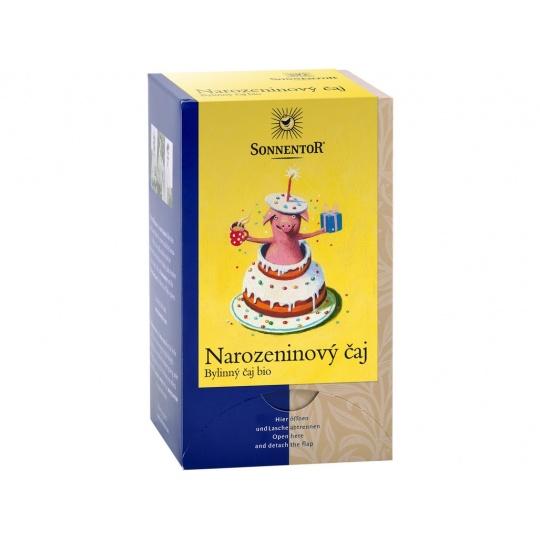 Bio Narozeninový čaj 27 g dvoukomorový