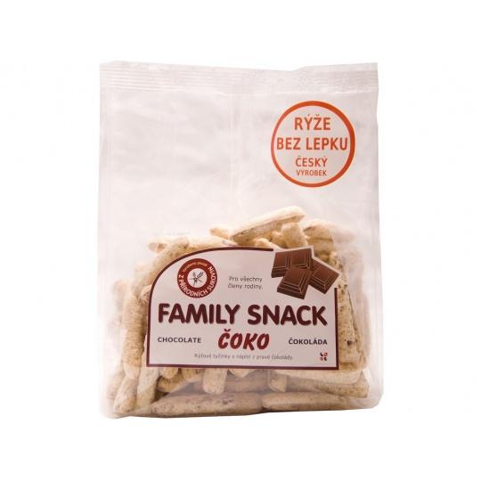 Family snack Čoko 165g