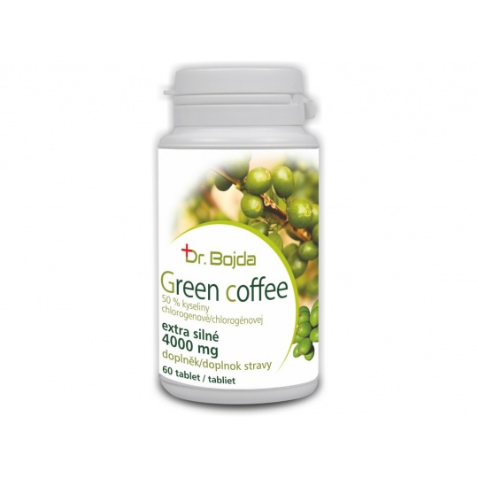 Green coffee 60 tablet - extra silné 4000mg
